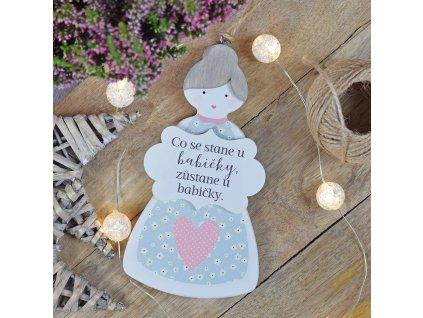 Babička - dekorace na zavěšení