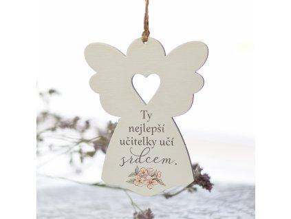 """Anděl se srdcem - """"Učit srdcem."""""""