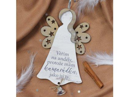 Anděl se zvonečkem - pro kamarádku