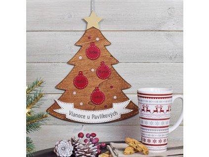 Rodinný vánoční stromeček SK