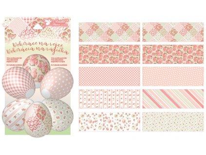 Smršťovací dekorace na vejce - dekupáž 10 ks