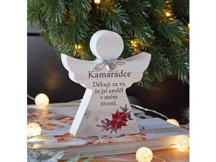 """Vánoční anděl - """"Kamarádce"""""""