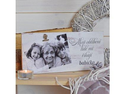 Fotocedulka pro babičku