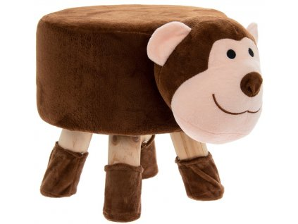 Dětské sedátko/podnožka - Opička