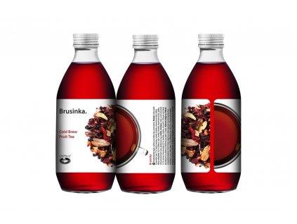 Brusinka - Cold Brew Fruit Tea 330 ml