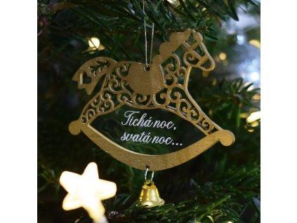 """Zlatý koník se zvonečkem - """"Tichá noc..."""""""