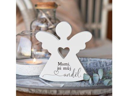 """Srdcový anděl - """"Mami, jsi můj anděl."""""""