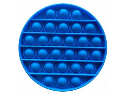 Pop It antistresová hračka Kruh modrý
