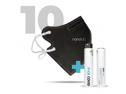 75071 10 x cesky bezpecny nano respirator ffp2 cerny