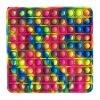Pop It antistresová hračka čtverec růžovomodrý JUMBO 20 cm