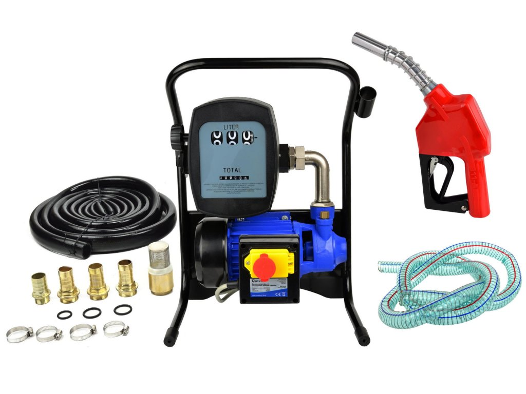 Čerpacia stanica na naftu a olej s prietokomerom 230V 600W YB600T