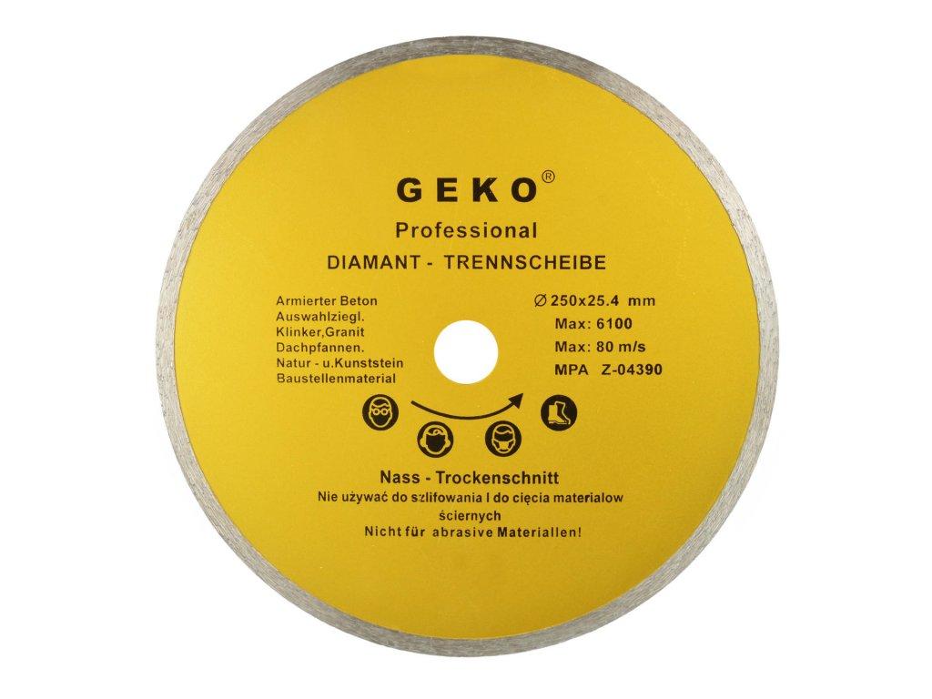 Diamantový kotúč CERAMIC PROFI 250mm x 1.6mm x 25.4mm