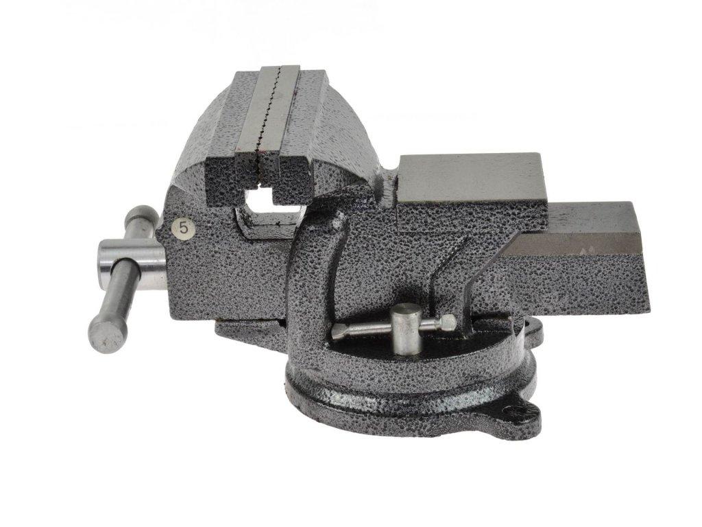 Dielenský zverák otočný 125mm
