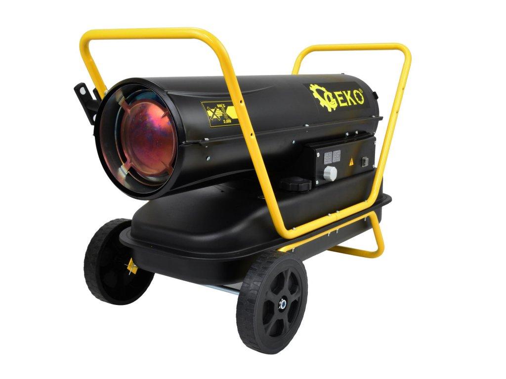 Naftový ohrievač vzduchu s priamym spaľovaním 40KW a termostatom