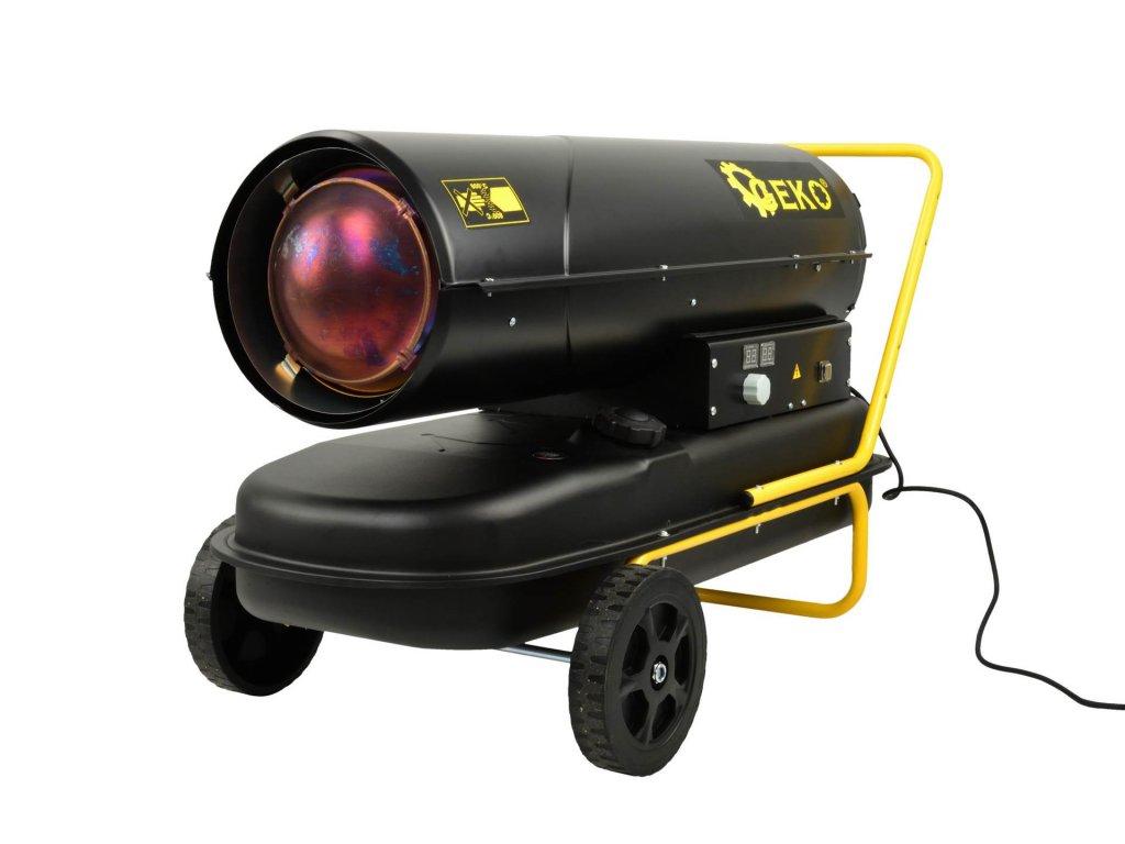 Naftový ohrievač vzduchu s priamym spaľovaním 65KW a termostatom