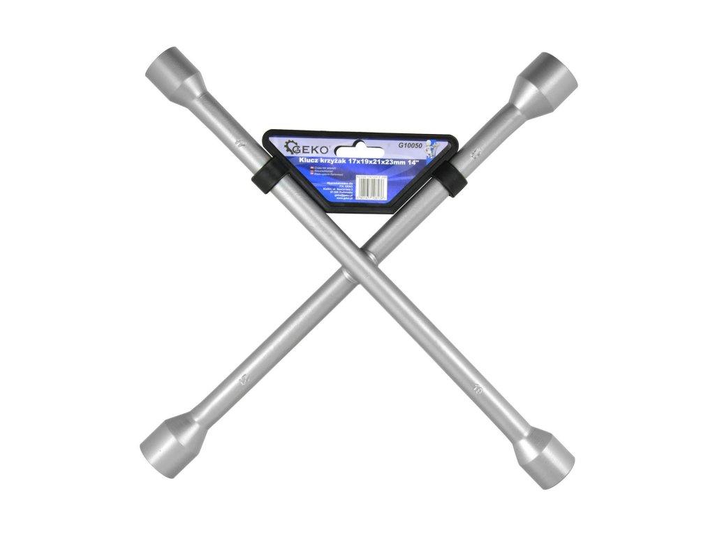 Krížový kľúč na kolesá 17mm, 19mm, 21mm, 23mm