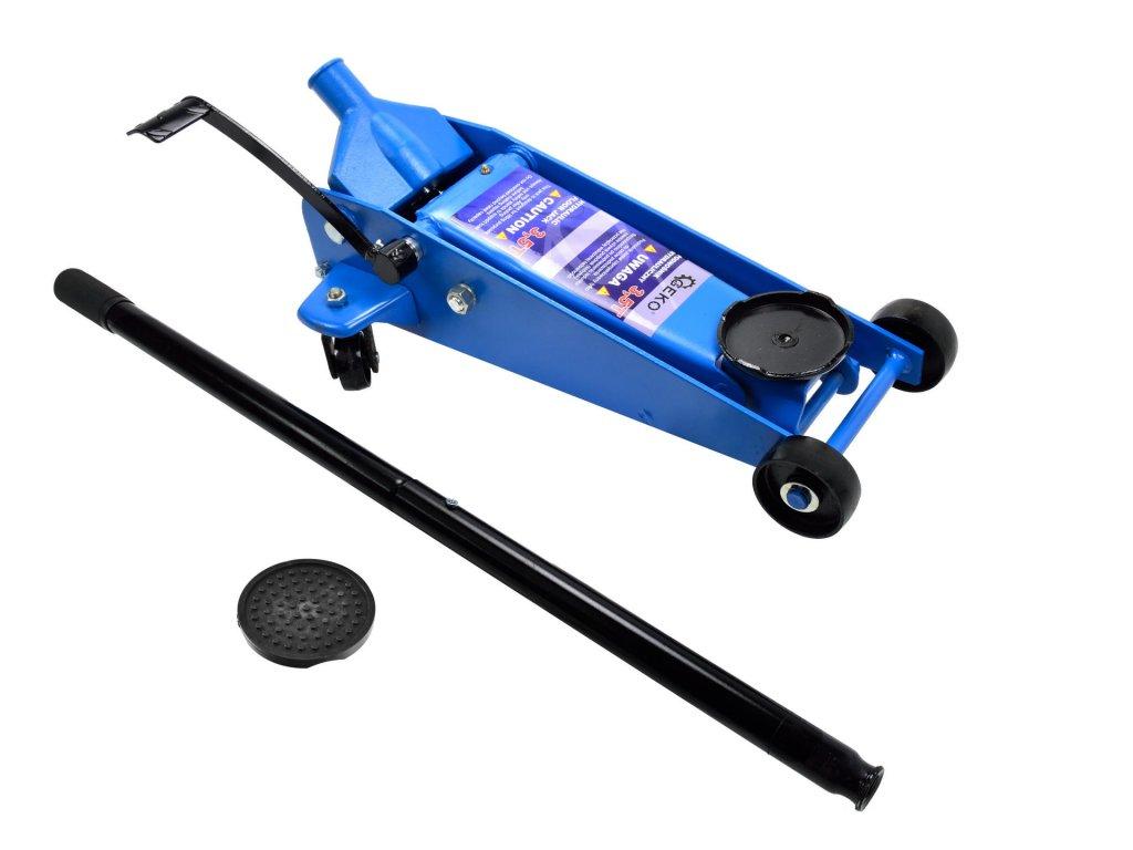 Pojazdný hydraulický zdvihák 3,5t 138-520mm