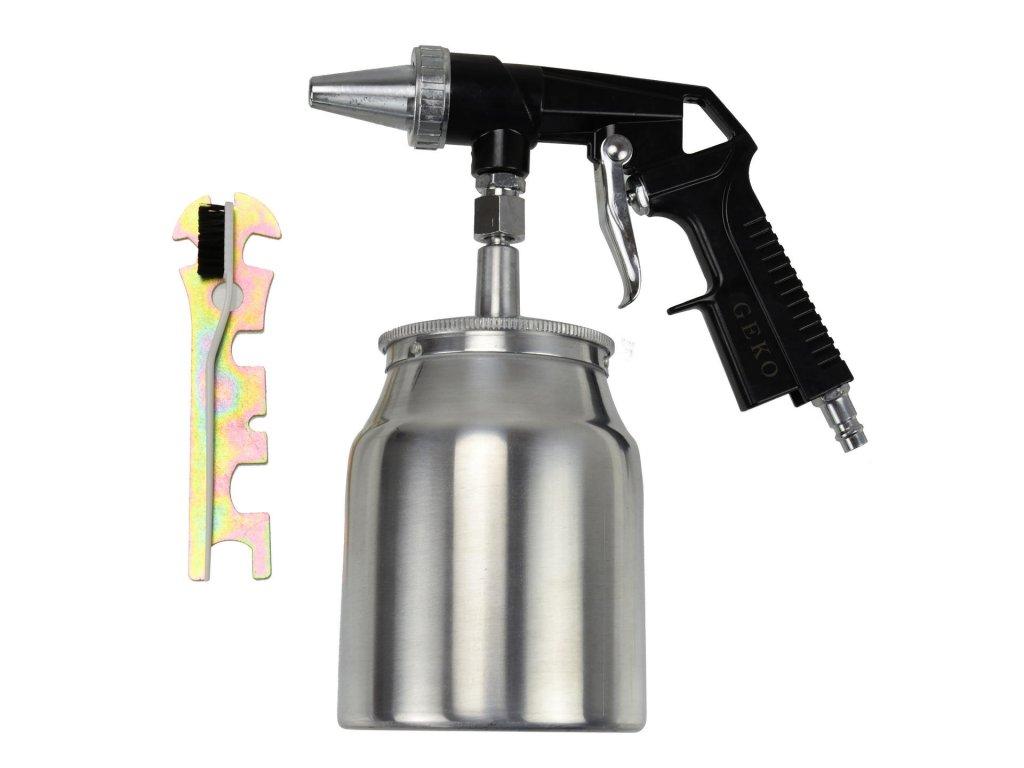 Pieskovacia pištoľ s nádobkou