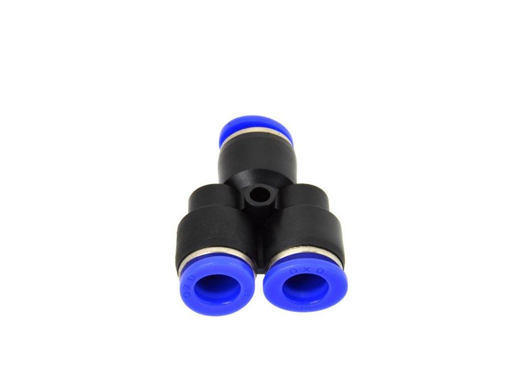 Rozdvojka na vzduchovú hadicu 10mm - typ Y