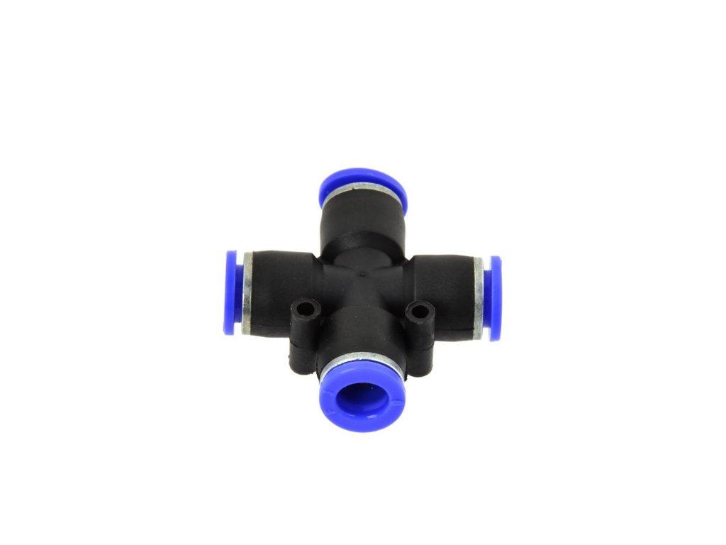 Rozdvojka na vzduchovú hadicu 10mm krížová