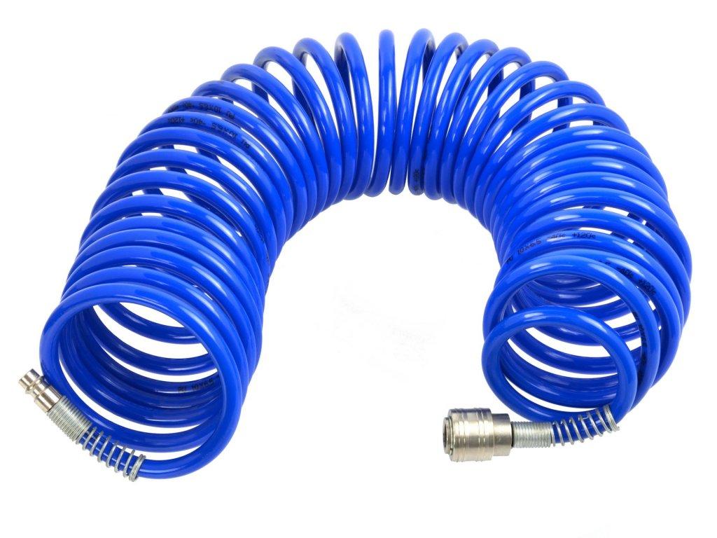 Špirálová hadica vzduchová 5m 6,5mm x 10mm