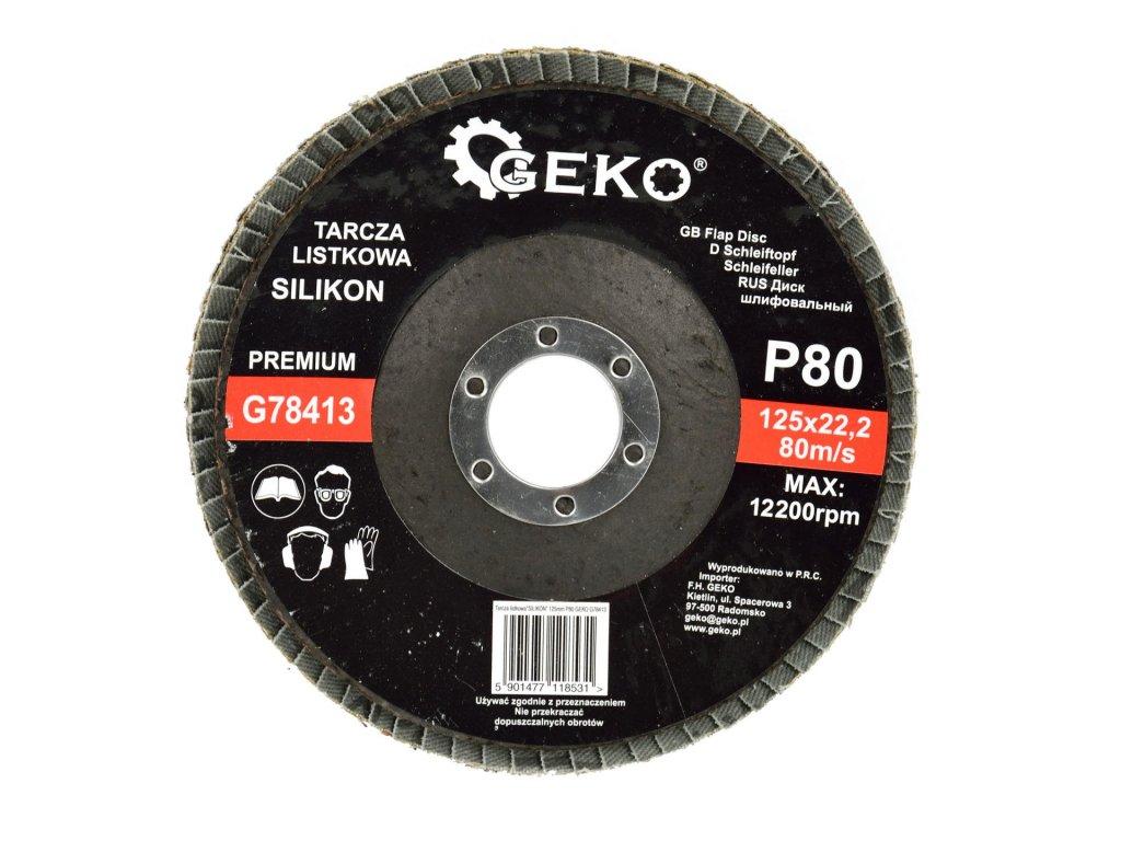 Brúsny lamelový kotúč Profi SILIKON 125mm P80