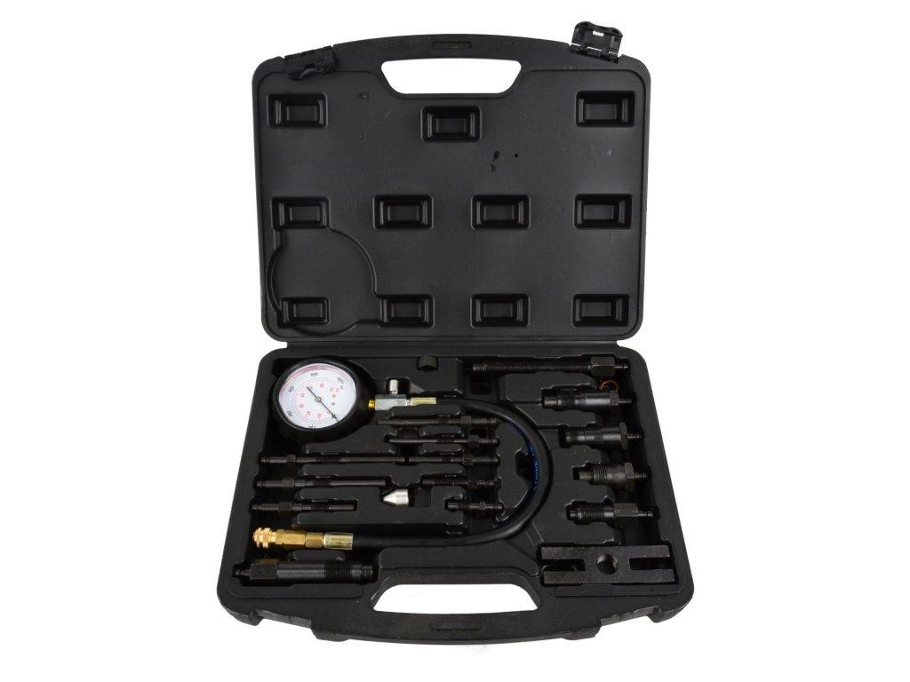 Tester, merač kompresie pre naftové motory 17ks