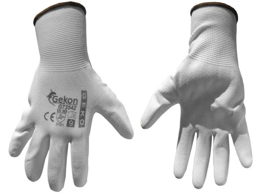 """Pracovné rukavice biele 9"""""""