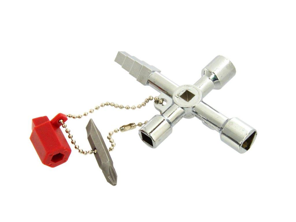 Univerzálny kľúč na rozvodné skrine