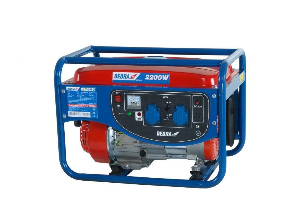 Elektrocentrála - generátor 2000W DEDRA
