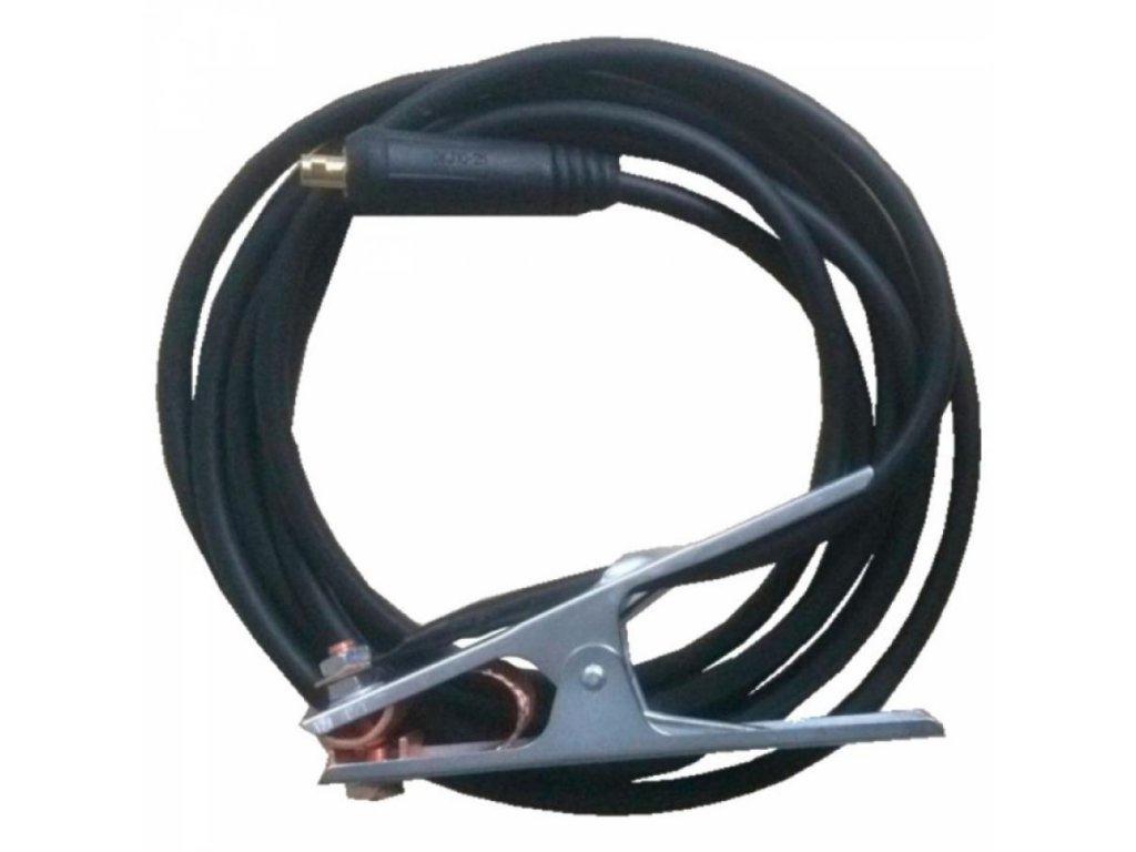 Uzemňovací kábel so svorkou 3m 25sqm, DKJ200 16-25 mm2