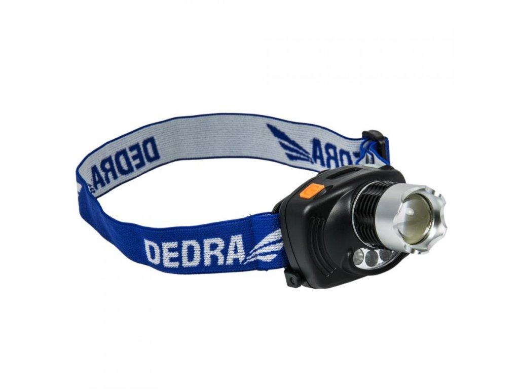 Čelná baterka 3W CREE LED, nastaviteľná ostrosť, infračervené, s