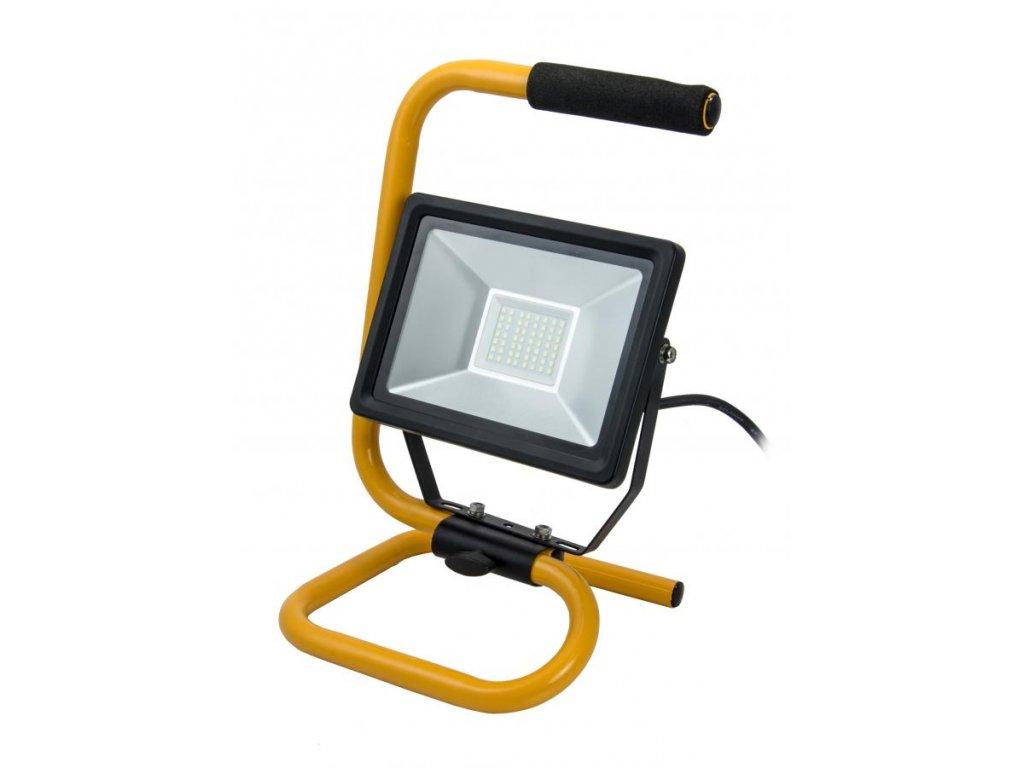 Dielenská lampa 30W SMD LED, ALU panel, stojan, IP65