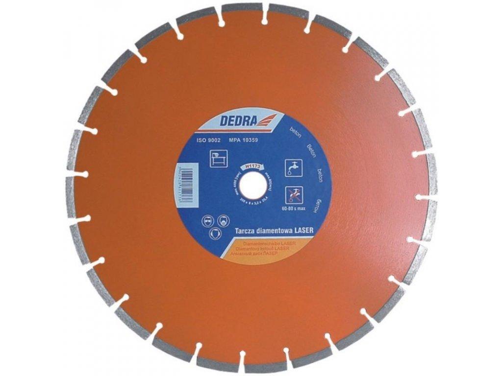 LASER BETÓN Diamantový segmentový rezný  kotúč 350 mm/25,4