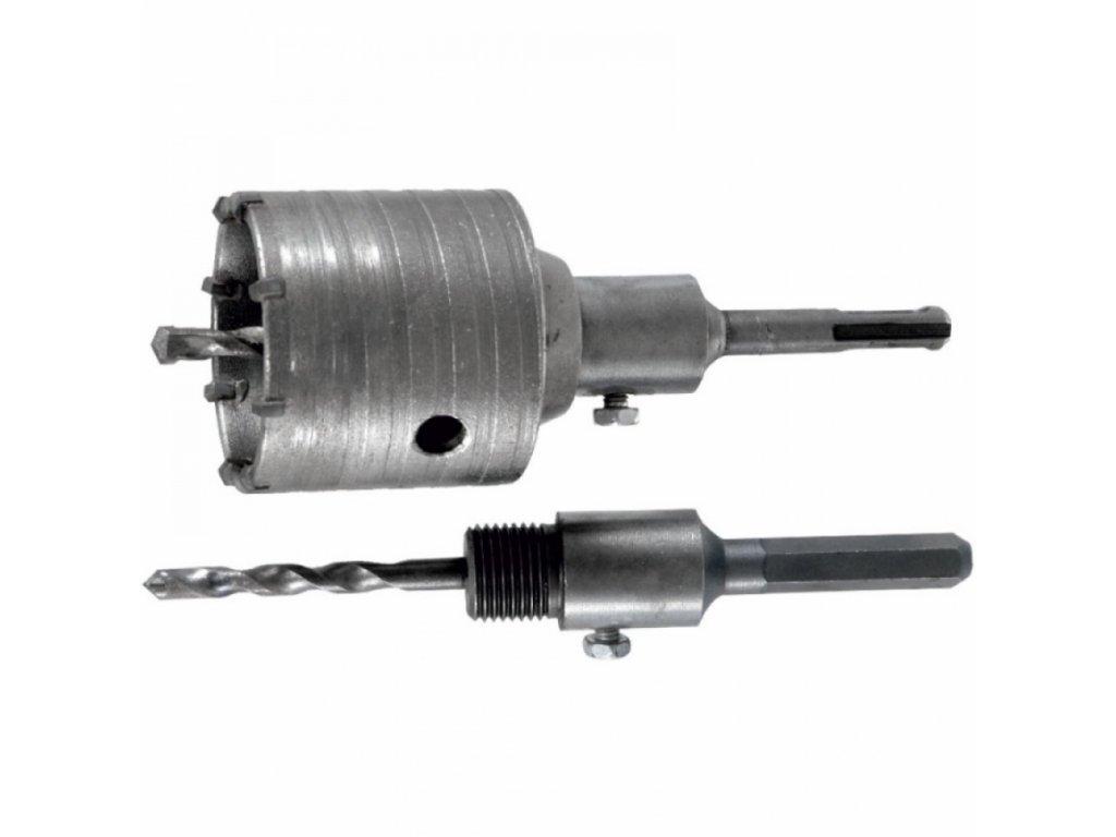 Korunkový vrták HEX, SDS+, 65 mm DEDRA