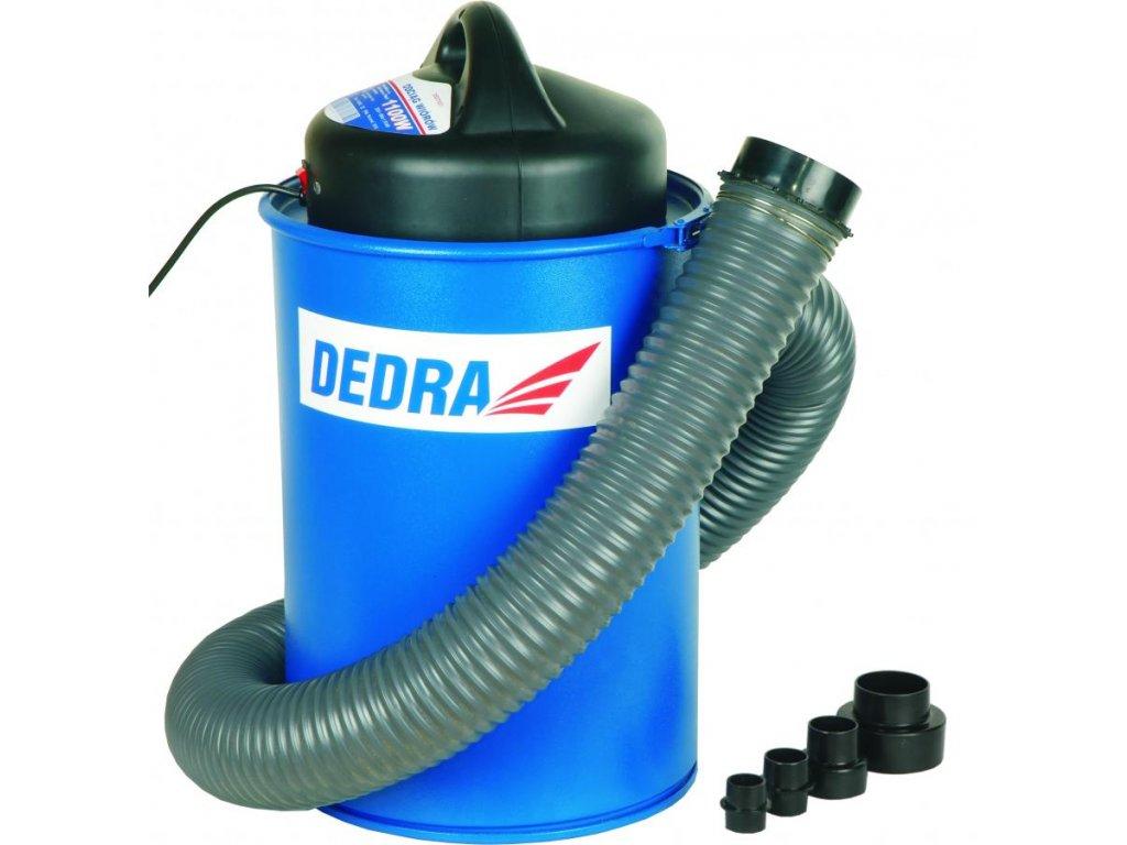 Priemyselný odsávač pilín a prachu 1100W, obsah 70 litrov