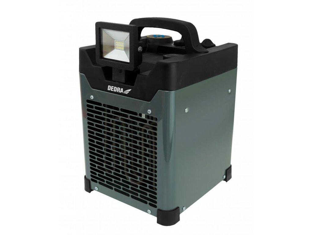 Ohrievač elektricky vzduchu 3300W BLUETOOTH LED