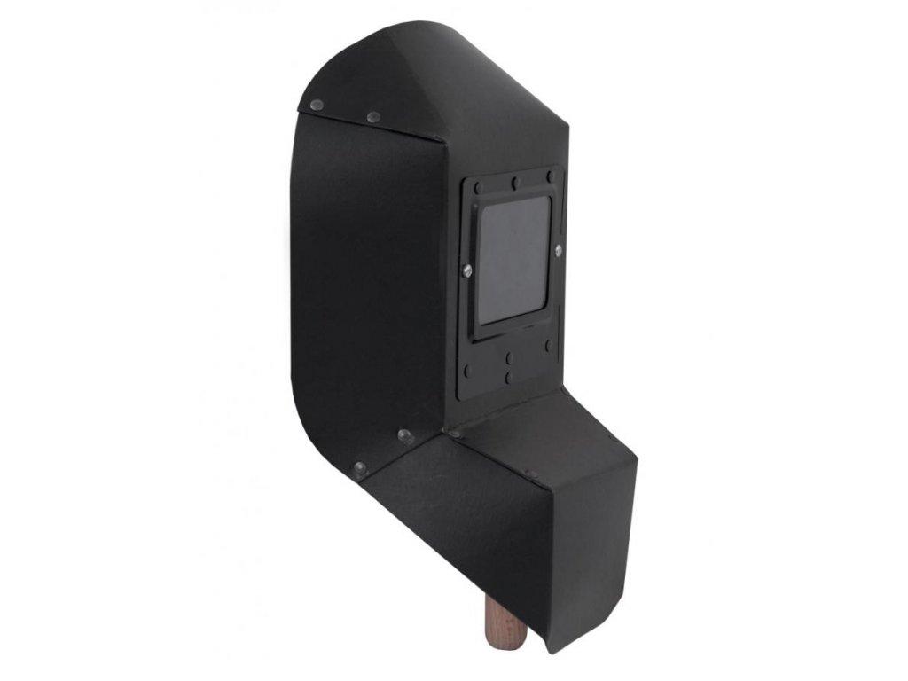Štít zváračský do ruky 235x385mm, filtr 80x100mm,