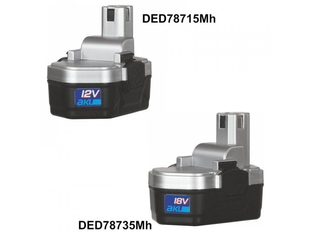 Náhradná batéria Ni-Mh pre aku.skrutkovač-vŕtačku 18V 1,2 Ah na DED7873B