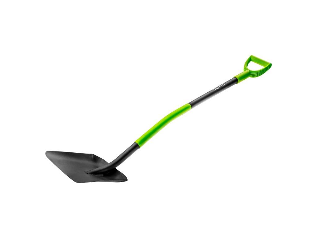 Lopata, kovová + plastová rukoväť VERTO  15G012