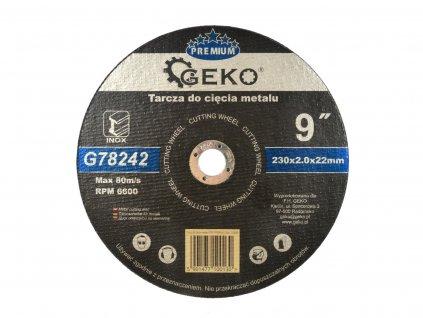 Rezný kotúč do kovu 230mm x 2.0mm x 22,2mm