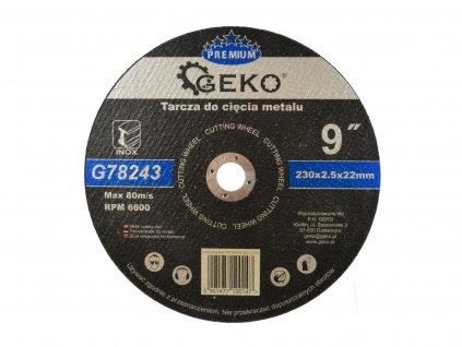 Rezný kotúč do kovu 230mm x 2.5mm x 22,2mm