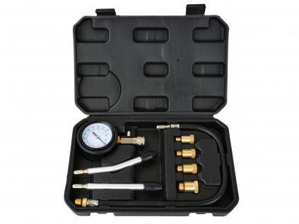 Tester, merač kompresie pre benzínové motory, sada 8ks