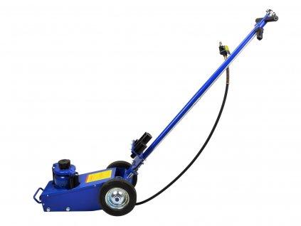 Pneumaticko-hydraulický pojazdný zdvihák 22t
