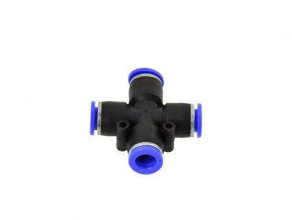 Rozdvojka na vzduchovú hadicu 12mm krížová