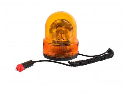 Maják na auto magnetický - oranžový 24V
