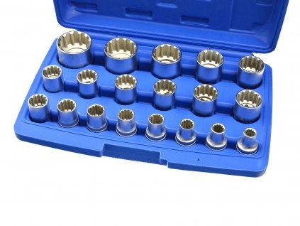 """Sada nástrčných kľúčov 1/2"""" VARIO 19ks 8-32mm VARIO"""