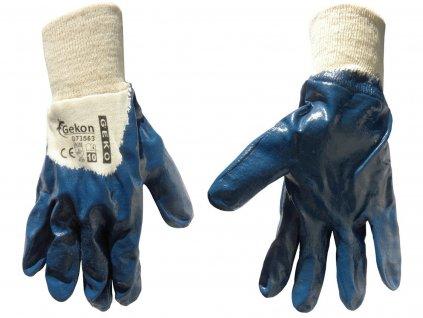 """Pracovné rukavice 10"""" blue"""