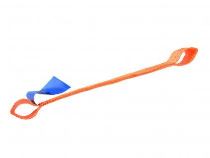 Pomocný popruh k ťažnému lanu 5t – 0,4m x 50mm