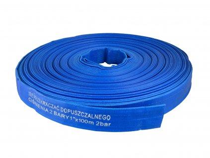 "Plochá hadica PVC 1"" 100m"
